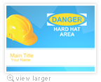 Hard Hat Template