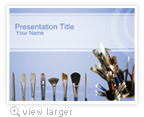 Paint Brush PowerPoint